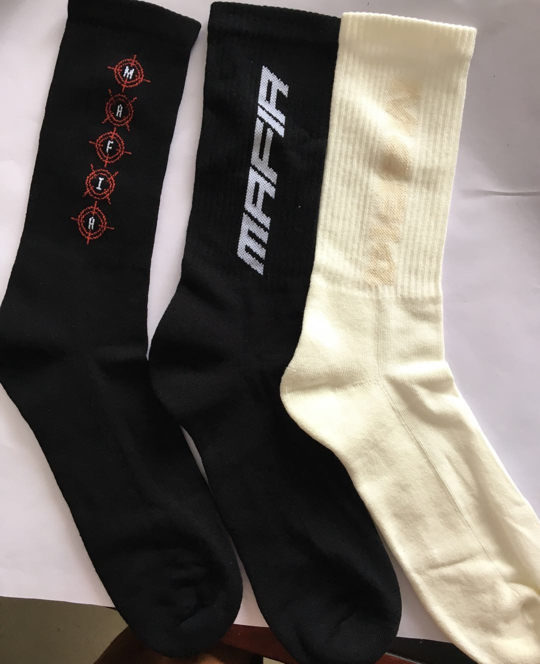 men half terry long sport socks
